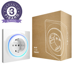 FIBARO - Prise murale intelligente Z-Wave+ Fibaro Walli Outlet type F (Schuko)