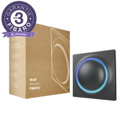FIBARO - Interrupteur variateur intelligent Z-Wave+ Fibaro Walli Dimmer Anthracite