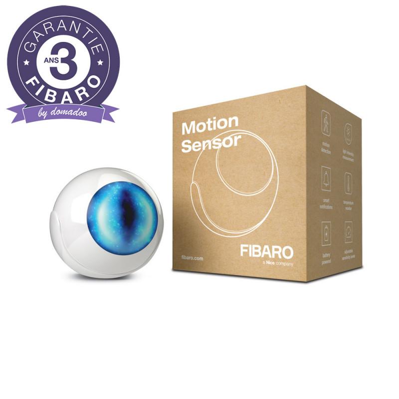 FIBARO - Détecteur de mouvement multifonctions Z-Wave+ Fibaro Motion Sensor FGMS-001