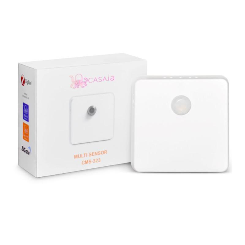 CASA.IA - Multi-Sensor Zigbee - Mouvements/Vibrations/Température/Humidité