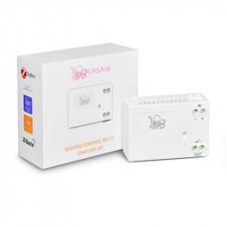 CASA.IA - Module de contrôle d'accès Zigbee (6-24V DC) - Contact sec et temporisé à 2 secondes