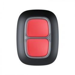 AJAX - Double bouton programmable radio (panique ou action) noir
