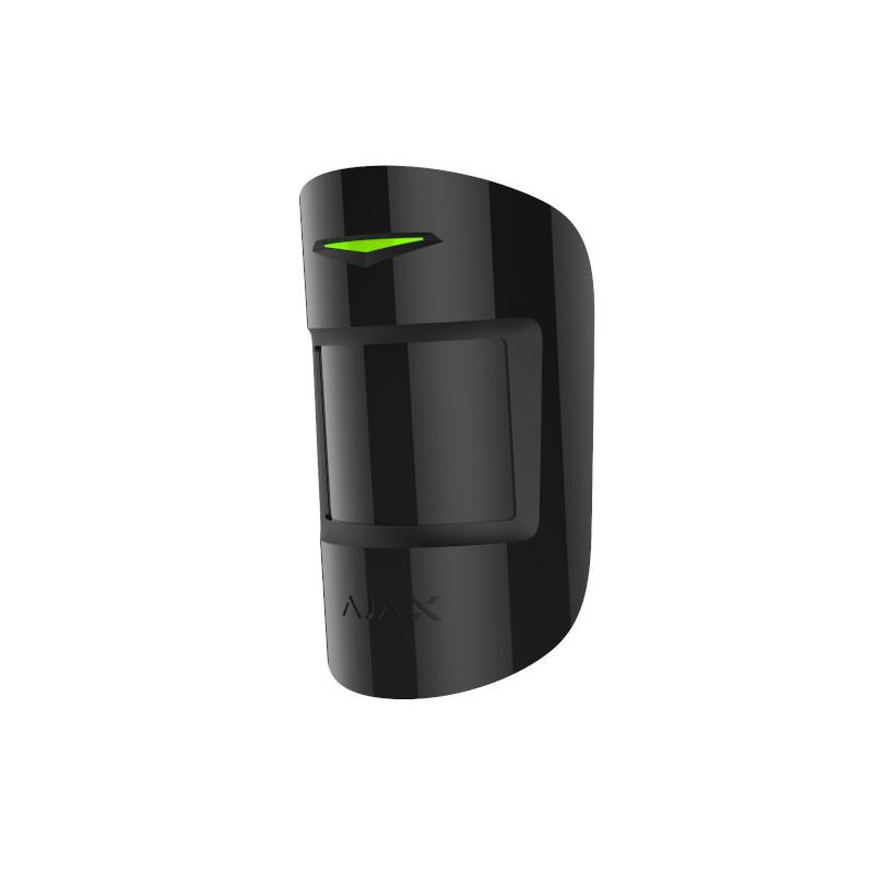 AJAX - Détecteur de mouvement et bris de vitre noir