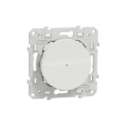 SCHNEIDER ELECTRIC - Variateur poussoir connecté Zigbee 3.0 Wiser Odace blanc
