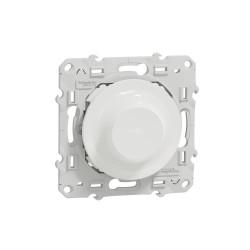 SCHNEIDER ELECTRIC - Variateur rotatif connecté Zigbee 3.0 Wiser Odace blanc