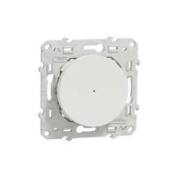 SCHNEIDER ELECTRIC - Interrupteur connecté Zigbee 3.0 Wiser Odace blanc