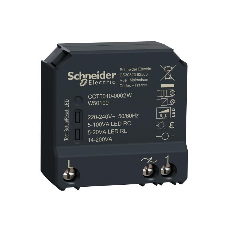 SCHNEIDER ELECTRIC - Micromodule variateur éclairage connecté Zigbee 3.0 Wiser