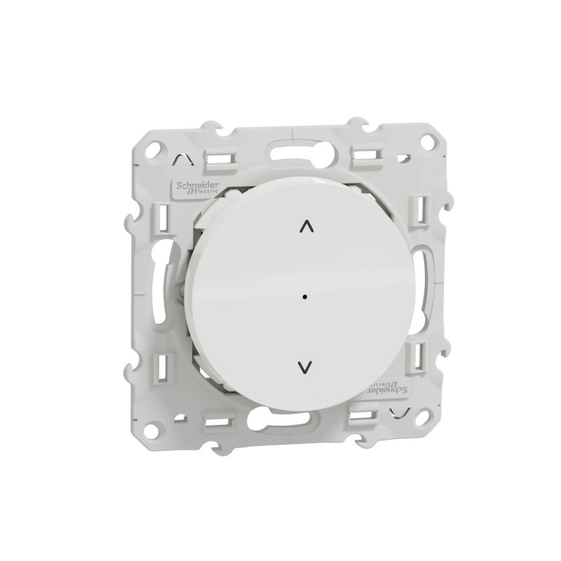 SCHNEIDER ELECTRIC - Interrupteur volet roulant connecté Zigbee 3.0 Wiser Odace blanc