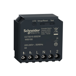 SCHNEIDER ELECTRIC - Micromodule volet roulant connecté Zigbee 3.0 Wiser