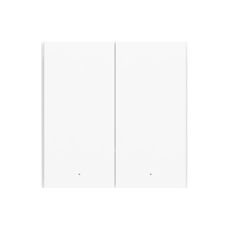 XIAOMI AQARA - Interrupteur mural double sans fil H1 ZigBee 3.0