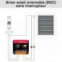NODON PRO - Micromodule volet roulant Zigbee 3.0