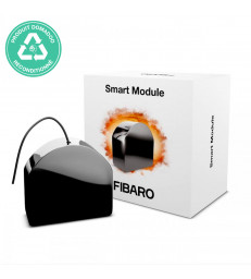 RECONDITIONNE - FIBARO - Micromodule commutateur libre de potentiel Z-Wave+ Fibaro Smart Module FGS-214