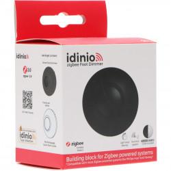 IDINIO - Variateur sur pied Zigbee 3.0 pour LED Noir + Blanc (compatible Philips Hue)