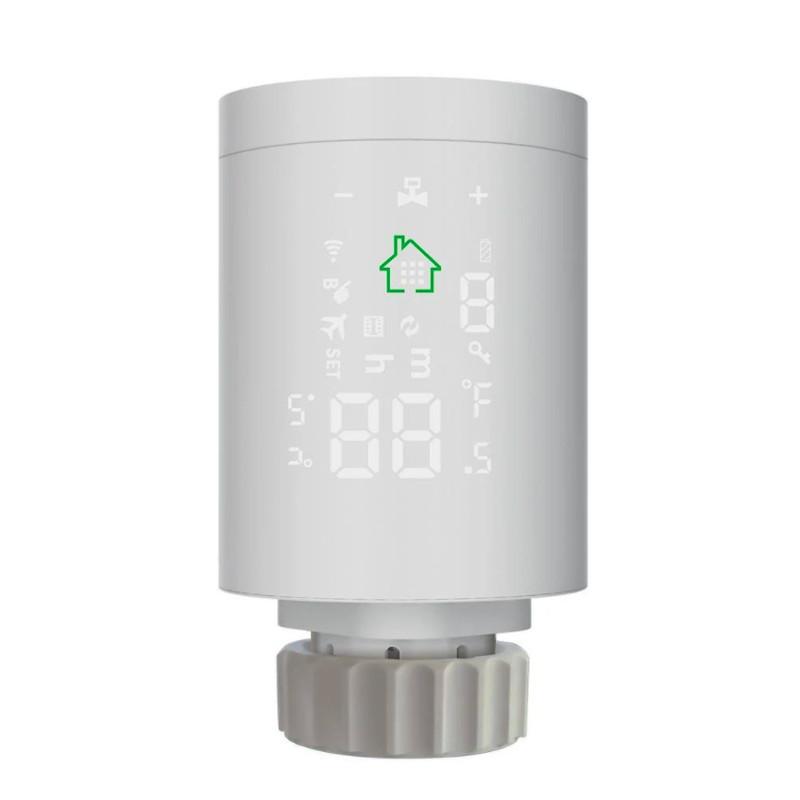 MOES - Tête thermostatique intelligente Zigbee 3.0
