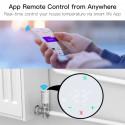 MOES - Tête thermostatique intelligente Zigbee 3.0 - Blanc