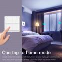 MOES - Interrupteur intelligent sans fil Zigbee - 3 boutons
