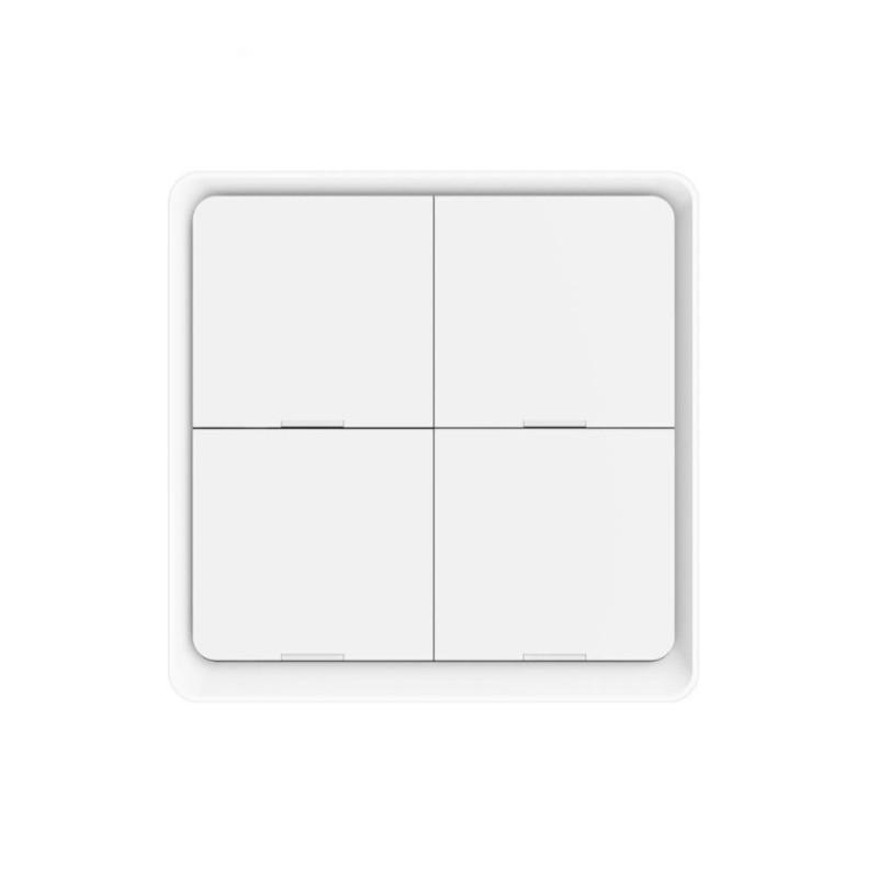 MOES - Interrupteur intelligent sans fil Zigbee - 4 boutons