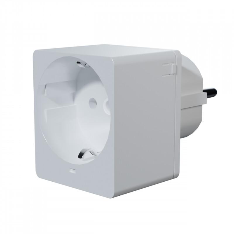 QUBINO - Prise commandée Z-Wave+ Smart Plug 16A