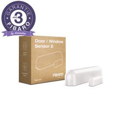 FIBARO - Détecteur d'ouverture Z-Wave+ Door/Window Sensor 2, Blanc