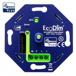 ECODIM - Interrupteur variateur rotatif Z-Wave+ 200W ECO-DIM.07 Basic