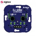 ECODIM - Double interrupteur variateur rotatif Zigbee 3.0 2x100W ECO-DIM.05