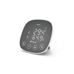 HEIMAN - Capteur de qualité d'air (CO2, température, humidité) Zigbee 3.0 + alarme visuelle et sonore