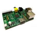 RASPBERRY Ordinateur monocarte Raspberry Pi Type B (512Mo)