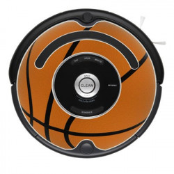 DOMADOO Sticker Ballon de basket pour Roomba