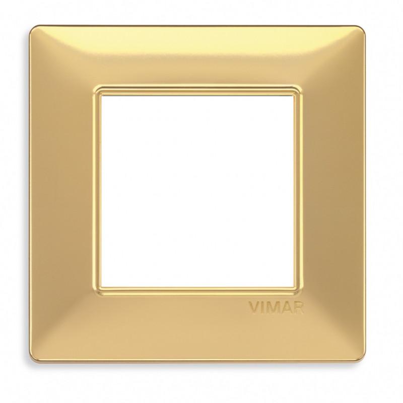 VIMAR Plaque de finition PLANA en technopolymère OR MAT