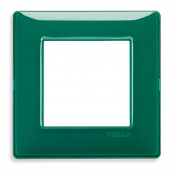 VIMAR Plaque de finition PLANA Reflex EMERAUDE