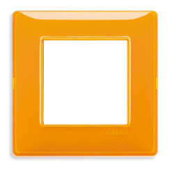 VIMAR Plaque de finition PLANA Reflex ORANGE