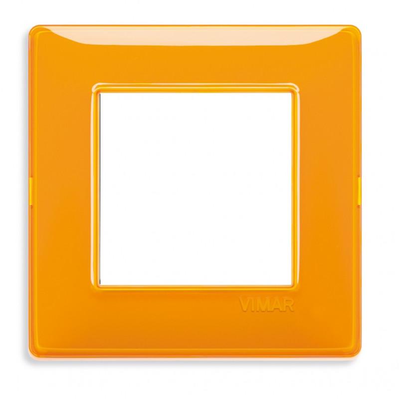 VIMAR Plaque de finition PLANA Reflex ORANGE