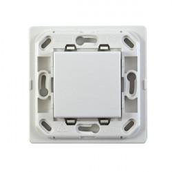 VIMAR Interrupteur sans fil EnOcean blanc 1 touche Sans Plaque - Support Blanc