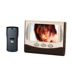 CHACON Portier vidéo analogique filaire (4 fils) avec écran couleur