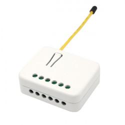 PHILIO Micromodule commutateur double Z-Wave avec mesure d'énergie