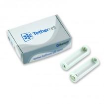 TETHERCELL Pack de 2 adaptateurs de contrôle pour pile AA