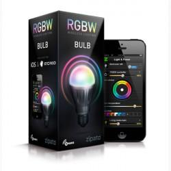 ZIPATO Ampoule LED RGBW Z-Wave+