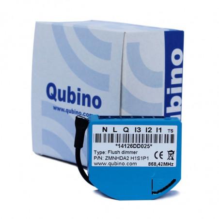 QUBINO - Micromodule variateur et consomètre Z-Wave ZMNHDA2