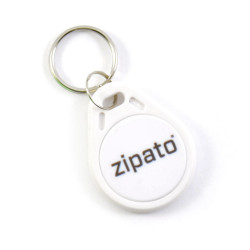 ZIPATO Badge RFID Blanc