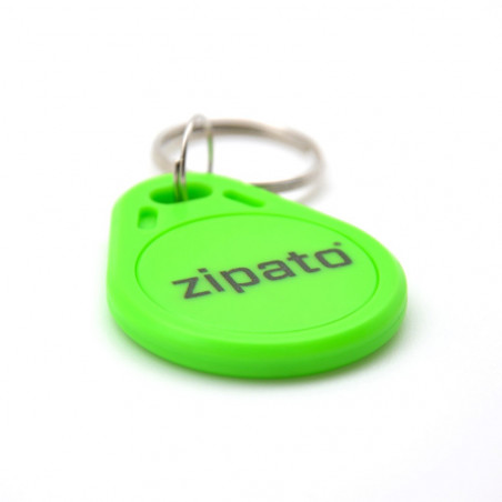 ZIPATO Badge RFID Vert