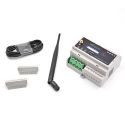 WIFIPOWER - Module rail DIN commutateur WiFi pour 2 circuits electriques