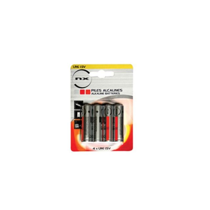 ENIX ENERGIES Blister 4 piles Alcaline LR06 NX 1,5V 3,4Ah