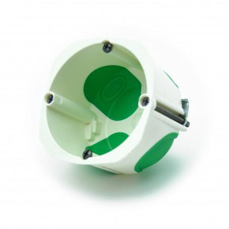 SCHNEIDER Boîte d'encastrement Multifix Air 1 poste, diamètre 67mm