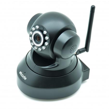 EBODE Caméra IP WiFi Pan/Tilt avec vision de nuit P2P