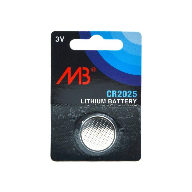 MICROBATT Pile bouton lithium CR2025 3V 160 mAh