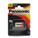 PANASONIC Blister 1 pile lithium CR2 3V 750 mAh