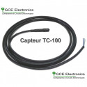 GCE Electronics Capteur de température TC-100, 2m