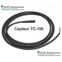 GCE Electronics Capteur de température TC-100, 10m