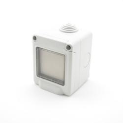 TRIO2SYS Interrupteur étanche EnOcean blanc 1 touche