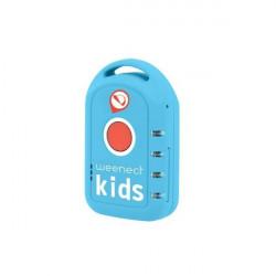 WEENECT KIDS - Balise GPS de géolocalisation des enfants, BLEUE